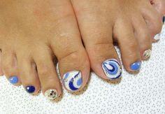 Idea decorazione unghie piedi