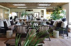 Yvonne O'Brien Interior Design Londolozi tree camp