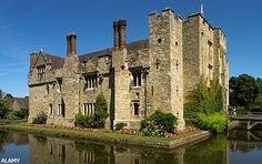 Hever Castle was Anne Boleyn's home.