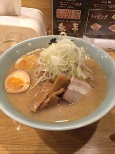 『糸末』味噌ラーメン+味玉
