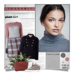 """""""Tessabit #2"""" by thewondersoffashion ❤ liked on Polyvore featuring See by Chloé, Carven, Gucci, MICHAEL Michael Kors and Minna Parikka"""