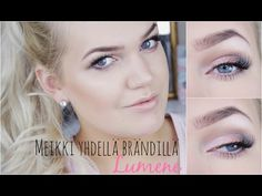 Beauty blogger Sanna-Emilia and a classy make-up made using only Lumene products. See the video tutorial! #makeup #lumene