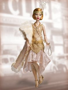 Dancing the Night Away - Outfit (she looks like Daisy Buchanan from the Great Gatsby movie)