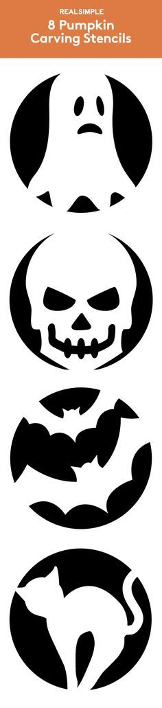 8 Pumpkin Carving Stencils | These stencil designs will help you carve the coolest jack-o-lanterns on the block, minimal effort required.