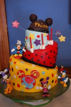 Mickey Mouse Clubhouse Cake By GFoster on CakeCentral.com