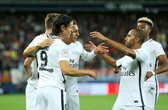 Cavani tỏa sáng giúp PSG giành ngôi đầu bảng - ketquabongdatructuyen