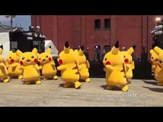 "PIKACHU DANCES SUPER JUNIOR ""DEVIL"""