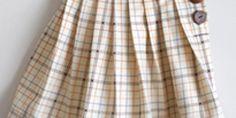 Back to School Pleated Uniform Skirt Tutorial