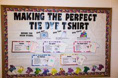 Tie Dye Bulletin Board- Oakland