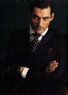 Gentleman Style 358669557794835337 - David Gandy shows us how to rock a suit with a dotted tie, men's formal style Source by daoudalmadowar David Gandy, Sharp Dressed Man, Well Dressed Men, Mode Man, La Mode Masculine, Hommes Sexy, Gentleman Style, Dapper Gentleman, English Gentleman