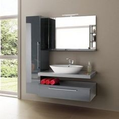 Bathroom Mirror Design, Floating Bathroom Vanities, Bedroom Door Design, Bedroom Furniture Design, Modern Bathroom Decor, Bathroom Design Small, Bathroom Interior Design, Modern Luxury Bedroom, Modern Bedroom Design