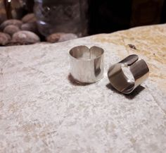 Sterling silver everyday rings #handmade #jewelry #sterling #silver #silverrings #minimal #metalsmith #greekdesigners #fallwinter #2018  #onlineboutique #onlineshop