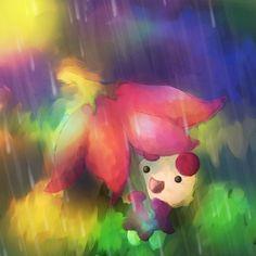 Kinoso im Regen - #Fanart des Tages