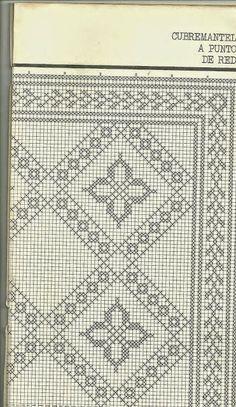 Learn seo marketing for interior design business - Crochet Filet Crochet Bedspread Pattern, Crochet Curtains, Crochet Flower Patterns, Crochet Doilies, Diy Crafts Crochet, Crochet Home, Crochet Chart, Crochet Stitches, Cross Stitch Designs