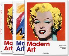 Modern Art 1870–2000. Impressionism to Today (Jumbo, TASCHEN 25 Edition)