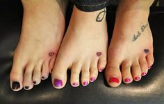 Tattoo Ideas for sisters/best friends/mothers and daughters