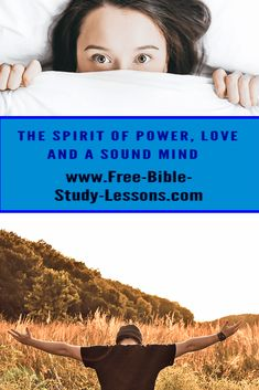 Bible Study Lessons, Free Bible Study, Love Sound, Bible Commentary, Spirit Of Fear, S Word, Mindfulness, Faith, How To Apply