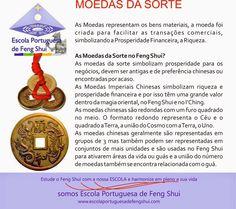 Escola Portuguesa de Feng Shui: MOEDAS DA SORTE