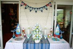 """Photo 1 of 36: Nautical / Baby Shower/Sip & See """"Nautical Baby Shower"""" 