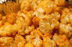Roasted paprika cauliflower.  Popular menu item in Spain.  It was served as one of the courses.  I ordered it every time.