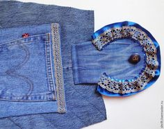 Flap Bag of Old Jeans Tutorial. Denim IdeasLove JeansDiy ... 44de463fff57d
