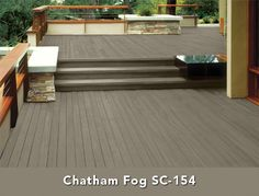 Behr Semi-Transparent Wood Stain in Boot Hill Grey Grey Deck Stain, Deck Stain Colors, Deck Colors, Paint Colors, Wood Stain, Fence Stain, House Colors, Behr Deck Paint, Deck Over Paint