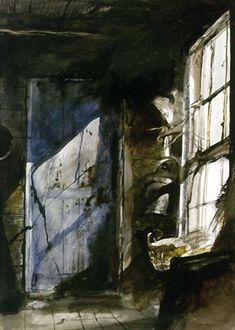 "Andrew Wyeth:  ""Blue Door""    I so love all of his paintings, he was Amazing!!  :)"