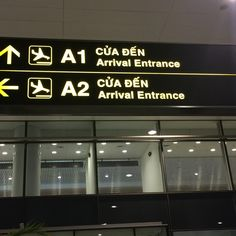 Arrival at NoiBai Airport  Hanoi, Vietnam