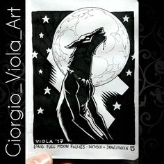 Day 5 of my #inktober  #drawlloween : long full moon follies! - #sketches #sketch #art #artist #artofinstagram #inking #handdrawn #pencil #ink #originalart #scribble #draw #drawing #drawings #illustration #illustrations #comics #drawingoftheday #doodle #moleskine #traditional #concept #inktober2017 #drawlloween2017 #werewolf #fullmoon #wolfman