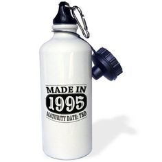 3dRose Made in 1995 - Maturity Date TDB, Sports Water Bottle, 21oz