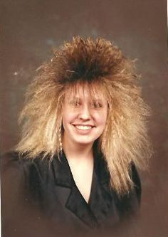 80s Fashion For Women Hair Bad Paid For Photos