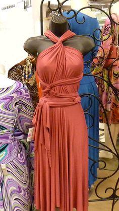 Convertible Dress Carolina Wrap Short