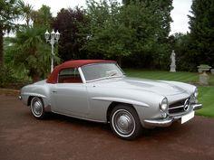 Mercedes Pagoda 190SL. 1957. Jet Set automotive style.