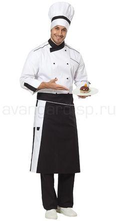 """Комплект повара """"Шеф"""" / Поварская одежда / Одежда для индустрии гостеприимства"""