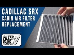 Cadillac Cabin Air Filter Replacement Videos