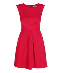Look what I found on #zulily! Rouge Keeley Fit & Flare Dress by Darling #zulilyfinds