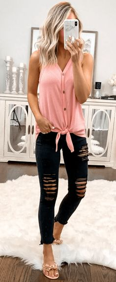 45 Ideal Summer Outfits To Own This SecondWachabuy 45 Ideale Sommeroutfits für diesen SecondWachabuy Look Fashion, Autumn Fashion, Fashion Outfits, Fashion Tips, Classy Fashion, French Fashion, Fashion Women, High Fashion, Fashion Hacks