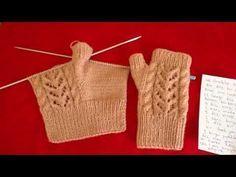 # With Finger # # Fingerless # Gloves # Making # – – crochet pattern