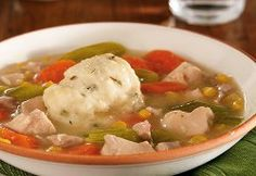 Make Chicken & Herb Dumplings as a springy spin on an old comfort food favorite. This recipe for slow cooker chicken and dumplings is a classic, but the herbs and veggies to your slow cooker recipes for chicken add a splash of color and style. Slow Cooker Times, Crock Pot Slow Cooker, Crock Pot Cooking, Slow Cooker Chicken, Slow Cooker Recipes, Crockpot Recipes, Chicken Recipes, Cooking Recipes, Kitchens