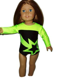 Shooting Star Leotard doll clothes fits American by TracysDesigns