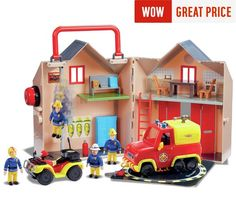 Buy Fireman Sam Pontypandy Value Set at Argos.co.uk, visit Argos.co.uk to shop online for Action figures and playsets, Toys Most Popular Kids Toys, Game Bit, Princess Fancy Dress, Fireman Sam, Sam Sam, Easy Piano, Disney Pixar Cars, Fire Engine, Argos