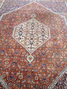 Vintage Perzisch Bidjar Tapijt 332 x 258