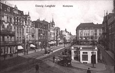 Danzig, Germany And Prussia, Krakow, Poland, Street View, City, Photographs, Beautiful, Retro