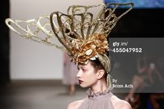 18k Gold Garden Butterfly   Sensational Dolly Donshey collection shown at Nolcha New York Fashion Week.