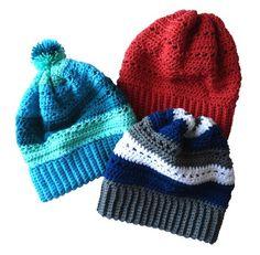 Snowy Day Slouchy Crochet Pattern - Slouchy Hat Messy Bun Beanie Crochet Pattern One Size Fits Adult Hat Love Crochet, Crochet Gifts, Beautiful Crochet, Diy Crochet, Single Crochet, Crochet Headbands, Crocheted Hats, Crochet Afghans, Crochet Flower