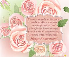 Dgreetings - Say Happy Anniversary to your love ones by sending this card. Happy Anniversary To My Husband, Anniversary Wishes For Friends, Happy Marriage Anniversary, Wedding Anniversary Quotes, Anniversary Message, Anniversary Greetings, Romantic Anniversary, Anniversary Cards, Wedding Quotes