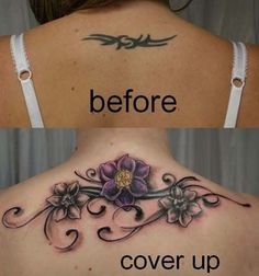 You can look new details of Flower Back Tattoo Cover Up by click this link : view details Flower Cover Up Tattoos, Flower Tattoo Drawings, Cover Tattoo, Tattoo Flowers, Cover Up Tattoos For Women, Back Tattoo Women, Tattoos For Guys, Back Tattoos Spine, Lower Back Tattoos