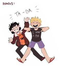 """turtletoria-art: """" i've wanted to draw these demidorks ever since i read the first Trials of Apollo book like 2 summers ago klahdsfkjasd anyway, here they are now! Percy Jackson Head Canon, Percy Jackson Ships, Percy Jackson Fan Art, Percy Jackson Memes, Percy Jackson Books, Percy Jackson Fandom, Magnus Chase, Will Solace, Solangelo"""