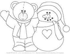 Resultado de imagen para dibujos en blanco y negro para pie de arbol navideños