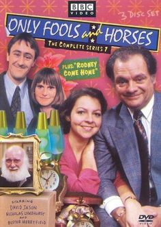 David Jason & Nicholas Lyndhurst - Only Fools and Horses - The Complete Series 7 British Tv Comedies, Classic Comedies, British Comedy, British Humour, Jason Nicholas, David Jason, Best Tv Shows, Favorite Tv Shows, English Comedy